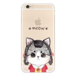 the best attitude 472d1 702bd My Chubby Cat Clear Phone Case